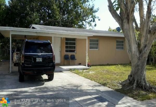 Attention Investors!!! Just close and start collecting rents. Property is turn key and fully rented at $1,150 per month. Long term tenant in place. Current NOI is $13,800 and is currently operating at a 7% cap. This can be purchased individually or as a portfolio of 5 other turn key rentals in Ft. Lauderdale. ML Numbers: F10123302, F10123304, F10123306, F10123316, F10123310. Total Price for Portfolio is $754,500. Seller looking to sell with current tenants.