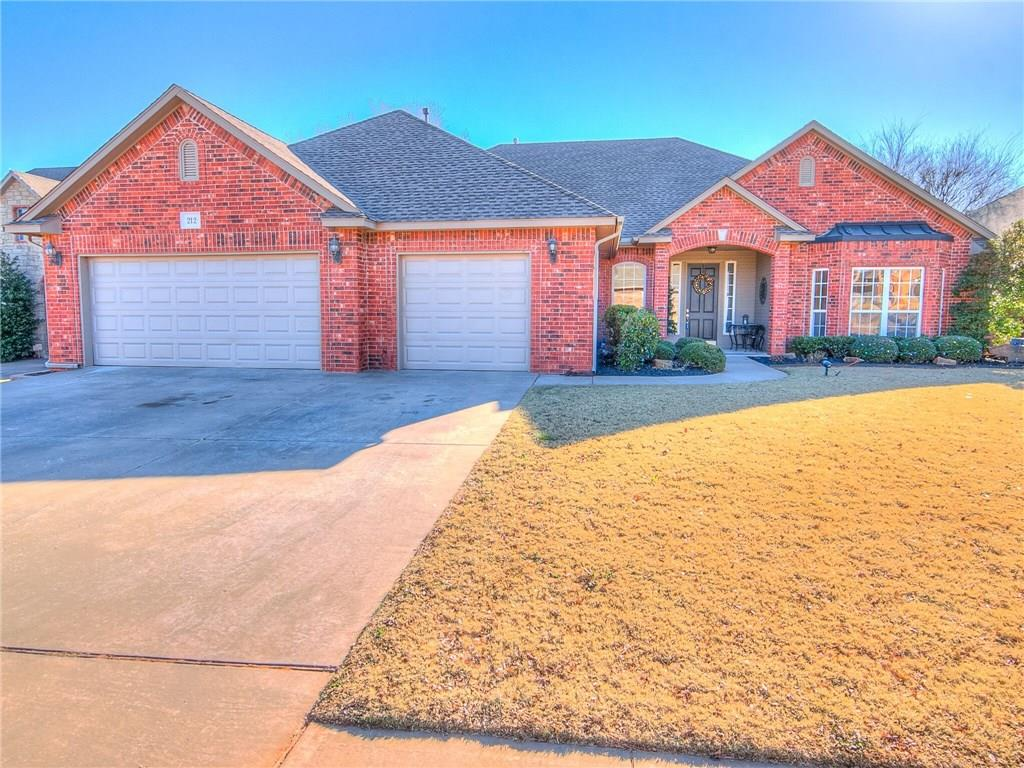 This beautiful home is located at 212 Highland Terrace Highland Village Norman OK