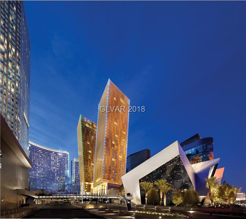 The iconic Veer Towers condominiums located in the heart of the Las Vegas Strip. Located  on the MGM City Center grounds of 64 acres and surrounded by over 300 restaurants in a 1 mile radius , Adjacent to T-Moblie arena , home of The Vegas Golden knights and a tram ride away from the Bellagio .This southeast facing 2 bedroom residence oversees the art gallery row and Las Vegas Strip . In excellent condition and just waiting for a new owner.