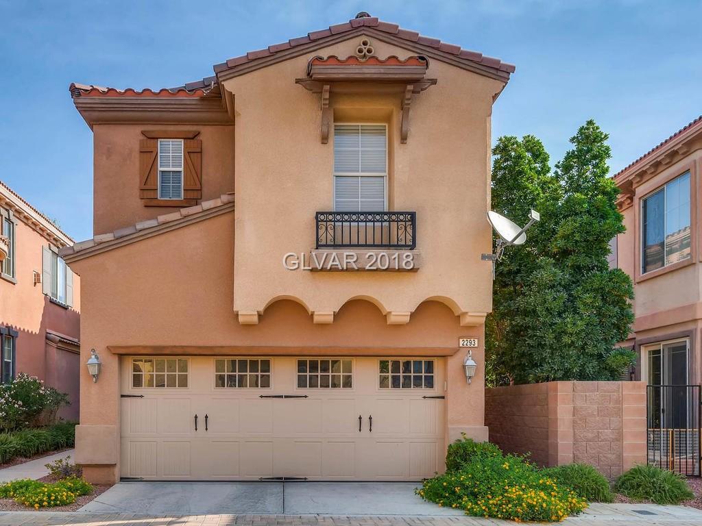 2293 ARAGON CANYON Street, Las Vegas, NV 89135