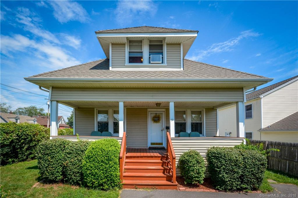 This lovely and spacious home has it all; 3 bedrooms, 2 full baths, quiet location, nice yard, 1 car garage, updated Siding, Windows, Roof, Kitchen, Boiler and more. Come and see it today.