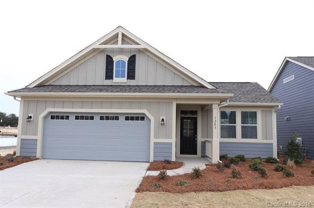 Beautiful New Community in Tega Cay offering low maintenance ranch homes with close proximity to Nivens Creek Landing, Baxter Village and Rivergate Shopping Center. Open floorplan with lots of natural sunlight and side courtyards with every home for outdoor living. This home features 2 bedrooms and 2 full bathrooms with a study and open floorplan.