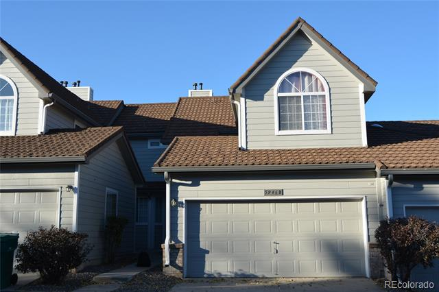 This is a stunning town home that has been remodeled with many upgrades such as new chandelier, granite kitchen counter, washer, sink, garbage disposal, microwave, can lights, additional cabinets in the kitchen, window coverings, shower heads, etc. It also has newer roof and carpets. This unit is one of the largest sun models with a finished basement. Refrigerator, washer & dryer included.