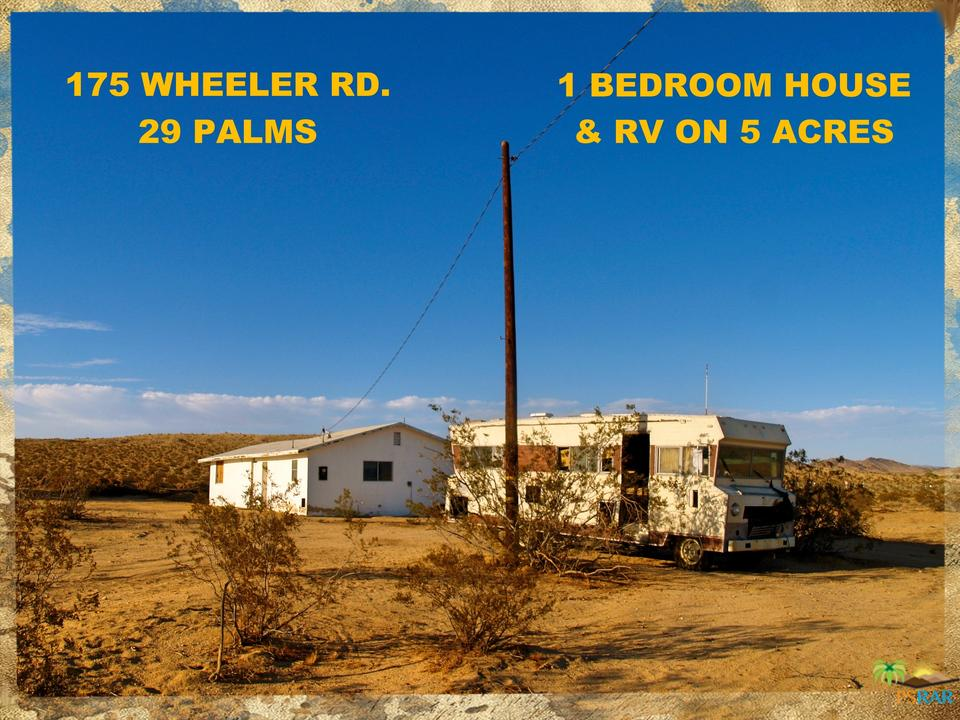175 N WHEELER, 29 Palms, CA 92277