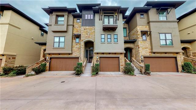 Agent has a familial relationship with seller. Agent does not own a %. Amazing 24 unit complex. Gated, very private & well maintained. #11 is a 3 story plan with an elevator. Views of Austin from 2 covered patios. Seller has replaced all of the wood flooring & has painted the entire unit inside out. Builder emphasized energy efficiency. Tankless water heater & much more. Located on the west side of Mopac with an easy entrance to the new HOV lane. Perfect for professionals.