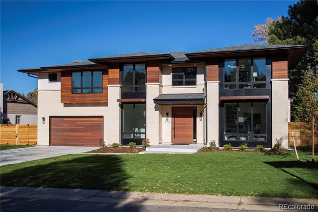 """The perfect design for 2018 • Timeless • Blending of traditional and modern • Massive mahogany front door • 20 foot ceilings in foyer • Floating staircase with LED lighting • White oak hardwood floors • Fine craftsmanship details: encased/flush chair rail and 8"""" baseboard and door trim • Over 7700 square feet of finished living on 3 levels • 7 bedrooms 7 baths • Quarter acre lot • Glass folding door system • Great Room has black metal powder coated  fireplace • 2 white marble quartz  kitchen islands • Commercial grade appliances: refrigerator/ freezer/wine cabinet/2 dishwashers/ icemaker/ 6 burner range with griddle, ovens & hood/ pot filler/ instant hot/ water/ wall oven and convection-microwave • Patio had BBQ island and fireplace • Main floor guest suite • Master Bedroom opens to south deck with heated floors in the 5 piece bath • Opportunity to join Crestmoor Swim & Tennis Main floor study with built-ins •  Wine storage-glassed in excercise room, 14 ft  bar.  Rave reviews-must see"""