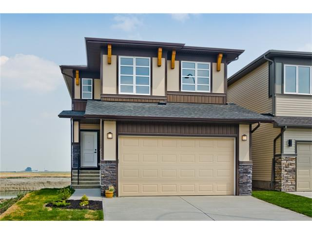 **ALL YOUR WISHES IN 1 HOME**Total Living Area 2824 SqFt**Welcome to 2017 Built 7BR/4WR Fully Finished Home w/ 2BR Builder Developed WALK-OUT LEGAL Suite Backing to POND/GREEN SPACE having PANORAMIC VIEWS in the Beautiful Community of Cornerstone. The home has tons of Quality Upgrades including SPICE KITCHEN, Eng. Hardwood, Ceramic Tiles, 9' main/bsmt ceiling, NEW BLINDS, FIREPLACE, CHEF KITCHEN, KitchenAid Appl,Full height cabinet w/ lighting, Wood/Spindle Railing, SEPARATE LAUNDRY, Quartz C/T. The main floor has large Great Room, Modern & Upgraded Kitchen,dining area, spice kitchen followed up FULL 4pc WR W/ BEDROOM.Upper floor has Master Bedroom W/ 6pc Ensuite,Other 3 good size bedrooms, 4pc WR,Bonus Room&Laundry room. The downstairs walkout 2BR LEGAL suite has upgraded kitchen,Living room,4pc WR & Storage room. The Sundeck on Main floor & Patio on Basement suite gives beautiful views of Pond&Greenspace.Get your Mortgage paid from the Basement suite.LEGAL Basement Suite Opportunities are Rare..Call now