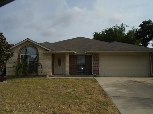 Lovely single story home in Marine Creek Hills in Eagle Mtn-Saginaw ISD.  This home features 2 living areas and 2 dining areas.  The flooring is laminate in the main living areas and carpet in the bedrooms. One of the living areas has a fireplace.  Yard is fenced and has covered patio.  No smoking, no housing vouchers. TAR app. $45 app fee can be paid with credit card. Income needs to be 3.5x monthly rent, good rental and no bad in last 5 years.