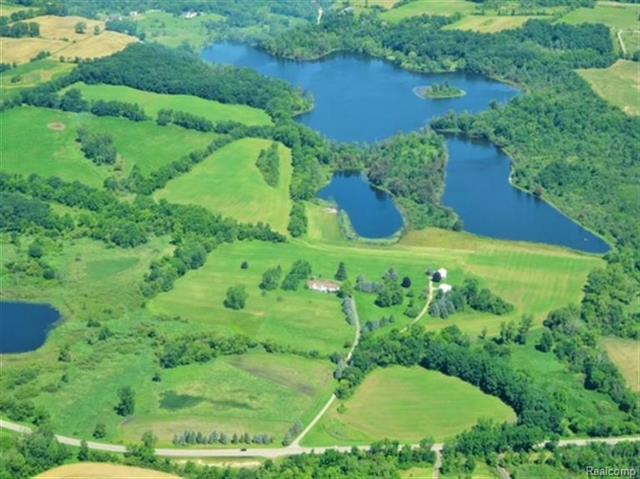 One of a Kind Property. Spacious colonial home on 165 acres with 55 acre lake over 70 ft deep. 30-40 acres of woods. Includes 3 bedroom  caretakers home and two separate outbuildings. New roof 2018Possibilities, Executive retreat, Hunting and Fishing Club, Central air, natural gas, whole house generator. Corporate retreat. To many features to list. Please see Drone aerial. (click on virtual media in upper right corner of listing)