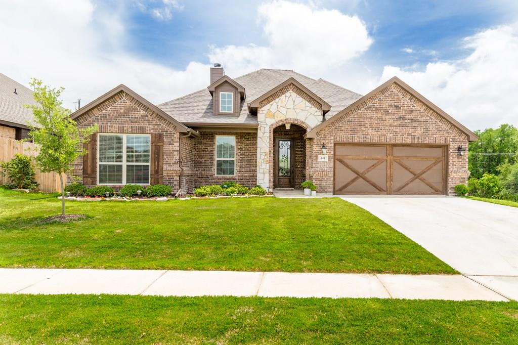 Image of beautiful home in Aledo, Texas