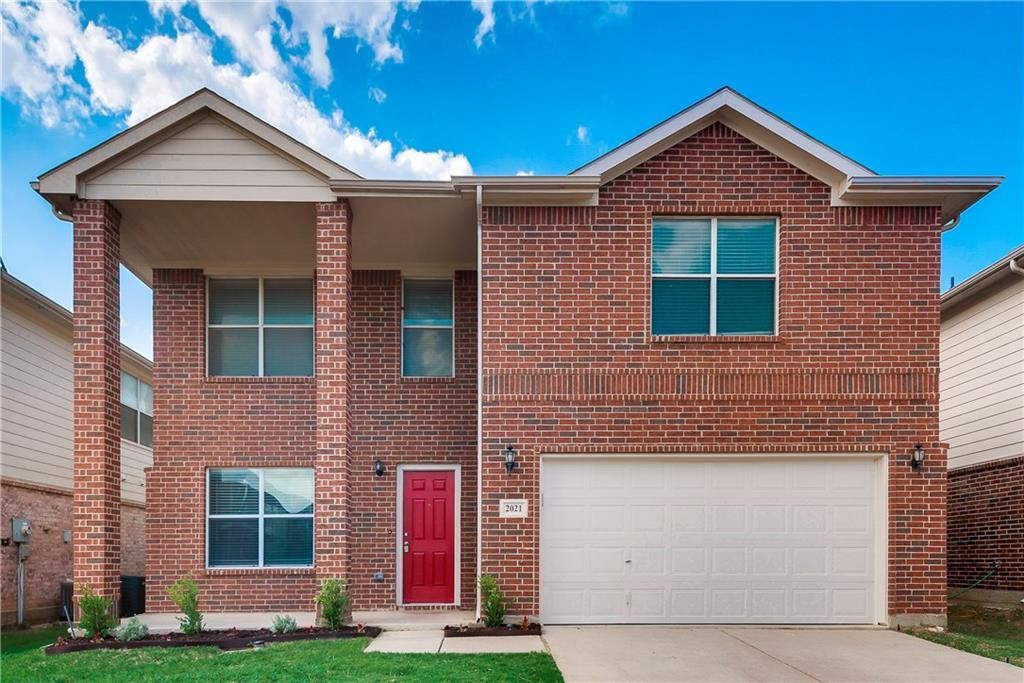 EXCELLENT LOCATION! Close to shopping, entertainment,  & I35. Near Intl. Leadership & feeds to NWISD. The home is an open floor plan with BIG being the theme for every room along with fresh paint, new carpet, granite and SS in the kitchen.  Located down is formal LR & FD,  2nd LR has corner FP and is open to the updated kitchen and 2nd dining area large enough for many family get togethers. Also DS are large closets, Huge laundry room and a guest bath.  Upstairs has 4 spacious bedrooms, 2 full baths, and a flex space or 3rd LR.  The master suite is big enough for a sitting room and has the 3rd full bath w separate tub and shower and a dreamy walk in closet.  The backyard is fully fenced with a sprinkler system.