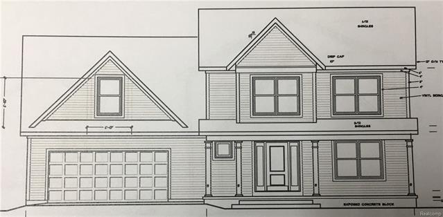 """Great location close to Brighton and expressway access with this """"to be built"""" custom Zelewski Construction 2-story.  This well appointed home will include a basement with daylight windows and an optional finished package.  The bedrooms are all good sized and in addition, there is a bonus room for fourth bedroom included. The main level has an open floor plan and a large covered front porch.  No deed restrictions so there is room for a second garage/barn and fencing is allowed.  Construction to begin October 1, 2018.  Plans and specs are available at the listing office."""