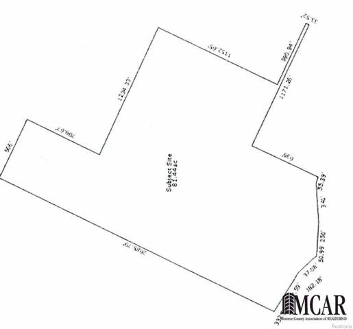 Development Land. Possible Subdivision. 81 acres. North of Ruff Dr, west of Holiday Dr, south of Stewart Rd developments.