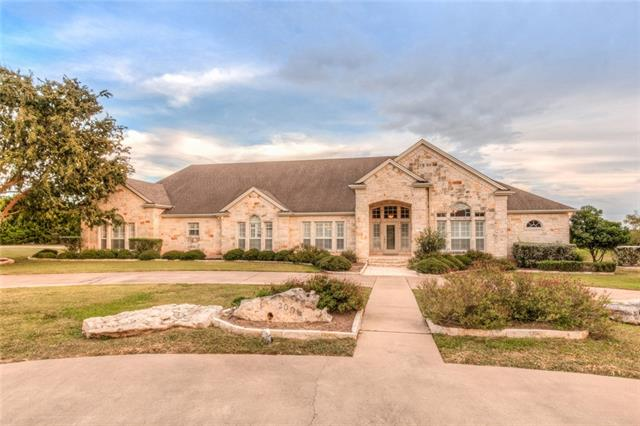 Great custom home on 2.9 acres. Lrg cvrd rear porch w/extended concrete patio w/2 flag poles, gazebo/picnic area amongst the trees, fish pond. 2 living areas~lrg living rm w/beautiful crown molding, trayed ceiling & cozy family rm off kitchen w/brick accent wall w/gas log FP. Spacious kitchen w/tons of storage. Large master suite w/french doors leading to rear cvrd porch. 2 driveways w/lots of parking. 2 water heaters. Lots of closet storage thruout. Tiled main lvg areas, window shutters, central vac