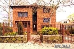 Spacious Galore W/6650 Square Feet Living Space...Tree Lined Street, Anderson Windows, 100% Brick, 5 Skylights, Granite Counter Tops, Fish Pond In Backyard, 4 Car Parking, High Hats, High Ceilings,Stainless Steel Appliances, Skyline With Remot Control Window, Convenient For Shopping And Transport. Walk To Lirr. Mints To Ps32, And Is25 School. Too Much To List.