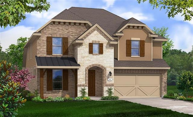 Two story Redwood plan with two story family room, private study with french doors and upstairs game room, master bedroom bay window and enlarged master shower. Granite Countertops, Custom Tile Backsplash, Covered Back Patio, Full Sprinkler/Sod in Front & Rear Yards. See Agent for Details on Finish Out. Available mid January.
