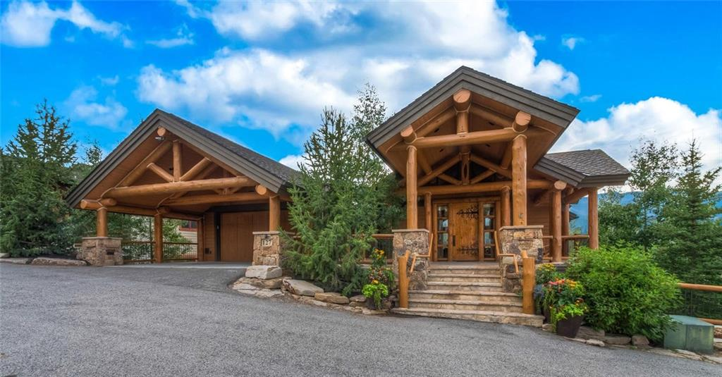 A truly remarkable luxury ski-in-out home w/every amenity possible! A spectacular view setting from this ridge top eagle's perch overlooking the 10 Mile Range, Ski Area & Town. This elegant Myriam Builders masterpiece is hand crafted & impressively appointed inside & out w/extensive artwork accents combined w/impeccable 1st class log, stone, alder, granite and copper finishes with high tech energy efficiency. Breckenridge's perfect flagship skiside residence in a peaceful no rent neighborhood.