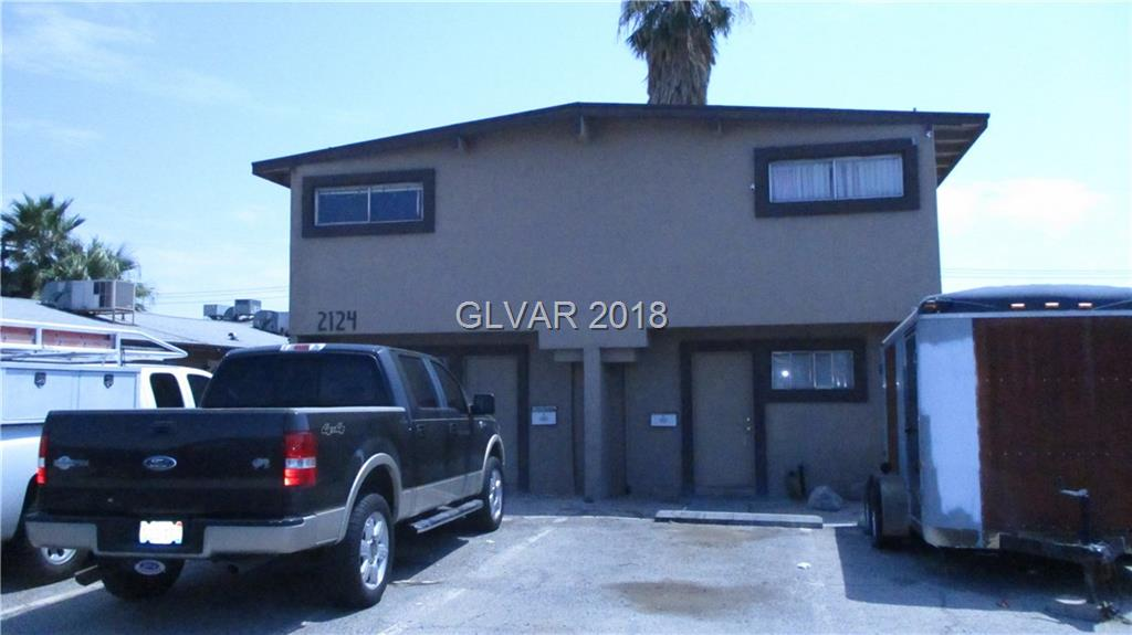 3 bedroom 2 bath Duplex Approx 1050 Square feet per unit RV gate to  large back yard 5 onsite parking spaces Newer AC units, exterior  Paint last year Units Have tile floors in Kitchen Living Room and Baths each unit has a there own fenced patio