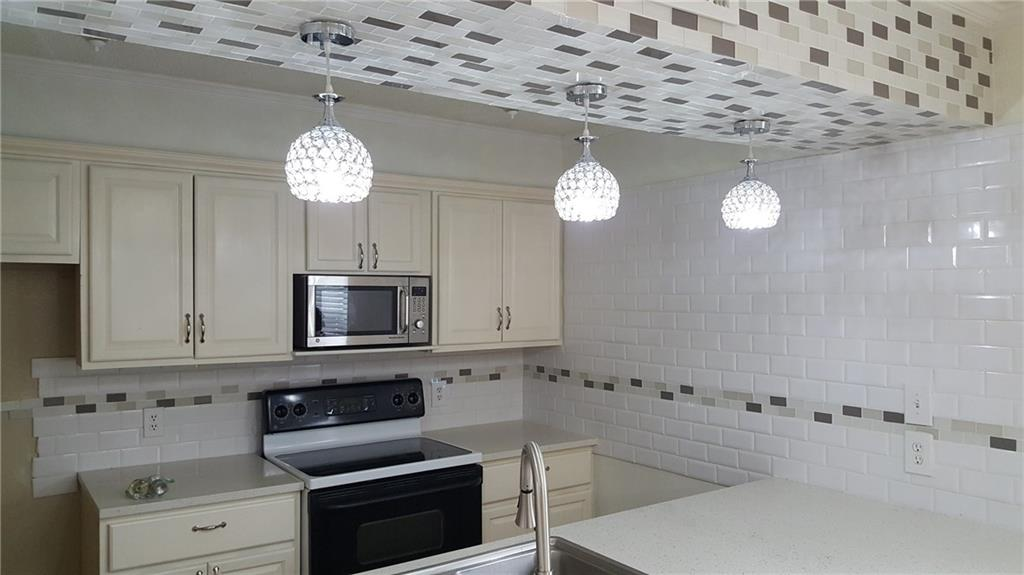 The seller bought this condo a year ago and remodeled all in general including the bathroom, floors, HAVC, lights, windows, kitchen, doors and etc. But due to the knee pain the seller can not go up and down the stairs so they're trying to sell this condo.