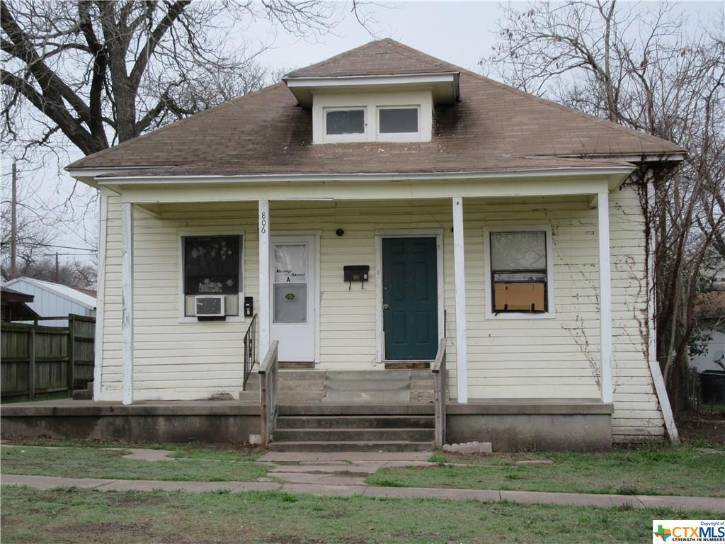 806 N 4th, Temple, TX 76501