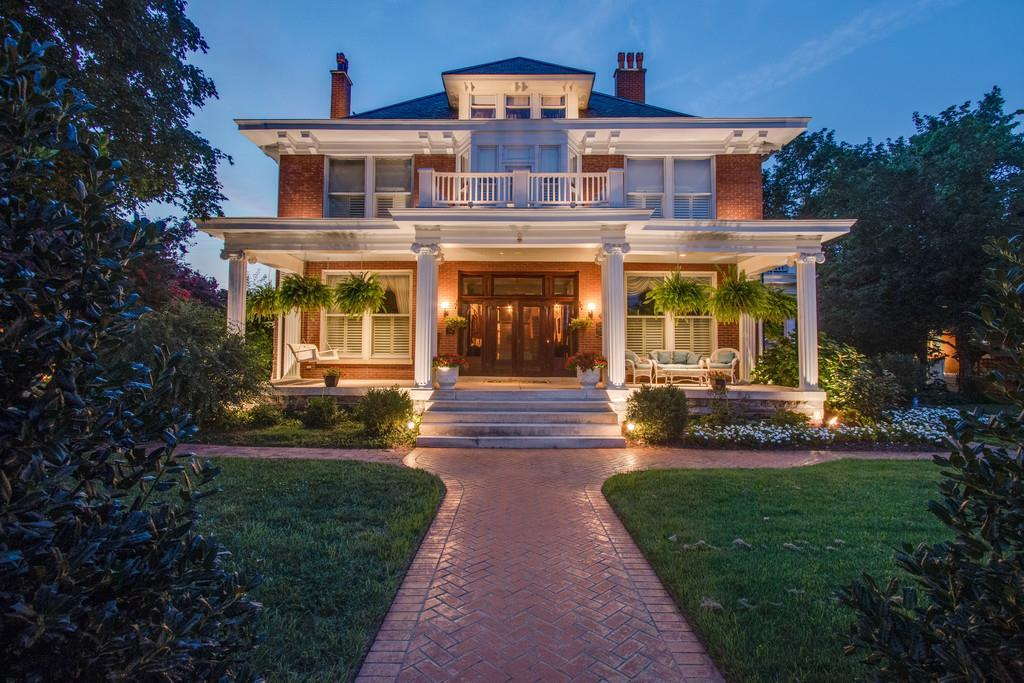 STUNNING HISTORIC HOME LISTED ON THE NATIONAL REGISTER.  GUTTED TO THE STUDS & RESTORED 20+ YEARS AGO WITH PAINSTAKING ATTENTION TO DETAIL.  ZONED RESIDENTIAL.  PRESENT OWNER RESIDES HERE -STRUCTURE IS PERMITTED FOR AN EVENT FACILITY & BED & BREAKFAST.  RARE FIND!!