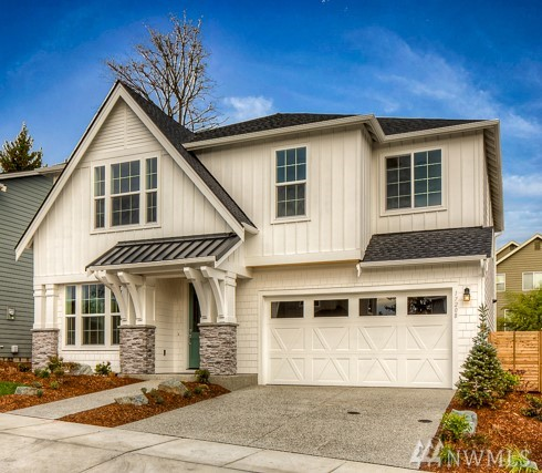 Welcome to Sheldon Estates, the newest Village Life community in Redmond! Easy access to D/T, freeway, parks, shopping & outdoor activities. The Woodland Plan (Lot 2) features: Great Room, Dining, Home Management Space & Covered Outdoor Area with double-sided fire place. Den w/sliding glass door & 3/4 bath on main. Master Suite w/ vaulted ceiling, 2 Walk-In Closets,Spa Bath w/ Free Standing Tub. Spacious Bonus Loft is a great place for games night. 3 car Garage. Welcome home to Sheldon Estates!