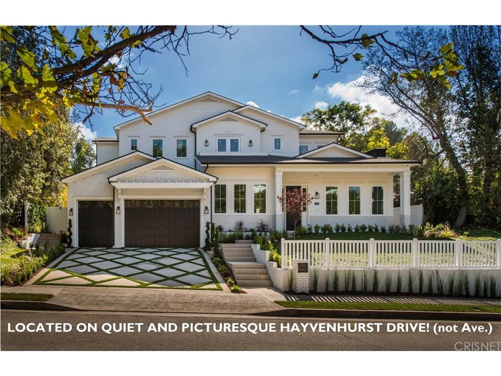 4143 HAYVENHURST Drive, Encino, CA 91436
