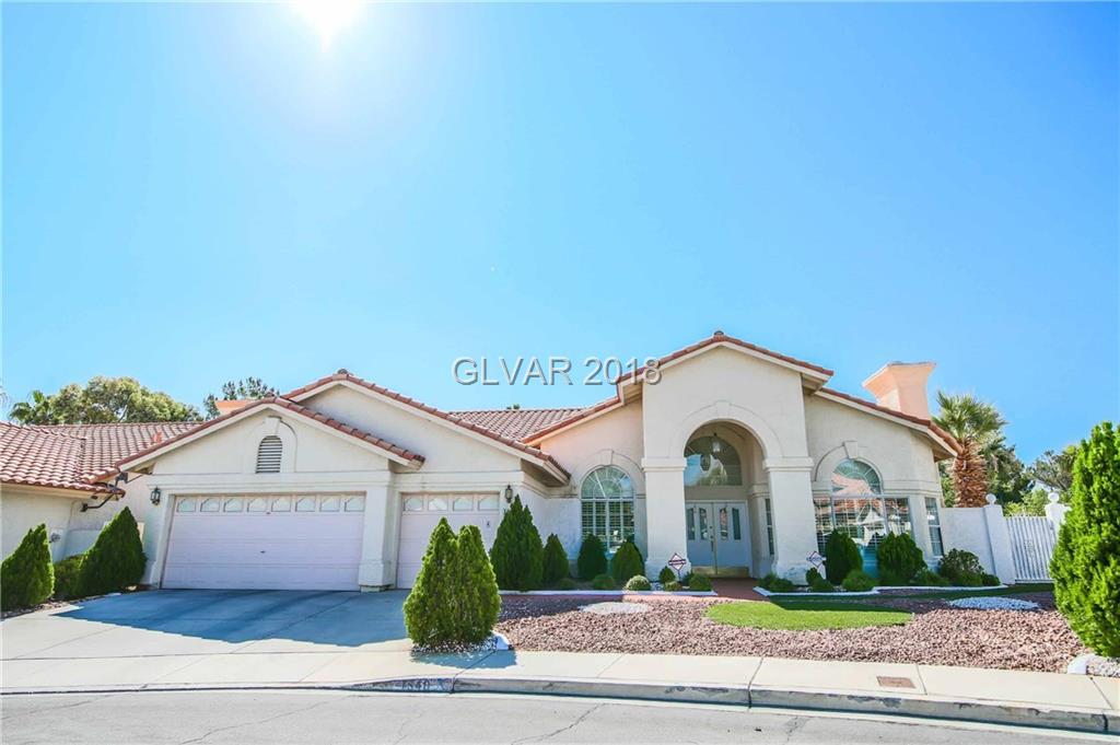 1540 CASTLE CREST Drive, Las Vegas, NV 89117