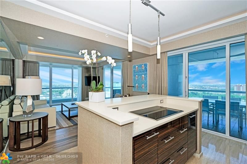 Amazing & Gorgeous Ocean View Residence at the Conrad Resort. Located on the 18th floor, the best location in the building & can be occupied all year round! Custom decorated & furniture package by Steven G Interiors. Massive expanded terraces. Floor to ceiling windows. The most breath taking Ocean & Intracoastal views. Owners will receive all services & amenities of the Conrad Resort, including daily laundry service, twice per day cleaning, beach service, & car service. This Residence can be homesteaded.