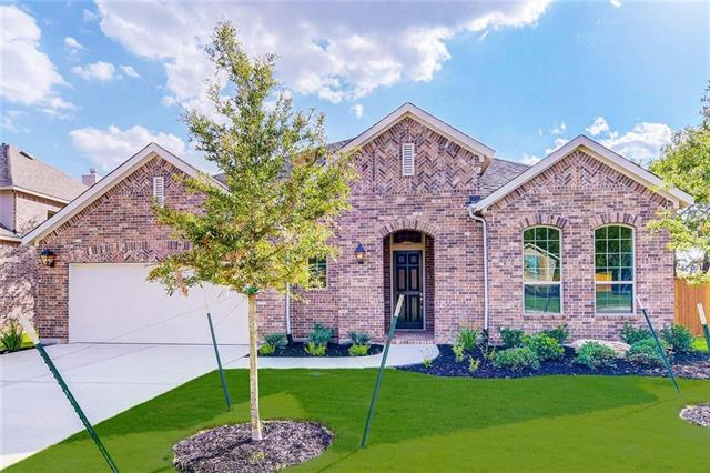 MLS# 5348688 - Built by Highland Homes - May completion!! ~ Beautiful, single level home in Parkside at Mayfield Ranch - walk to Parkside Elementary!  Popular 242 Plan - Media Room, Study, 4 Bedrooms, large open floor plan - stop by today!!!