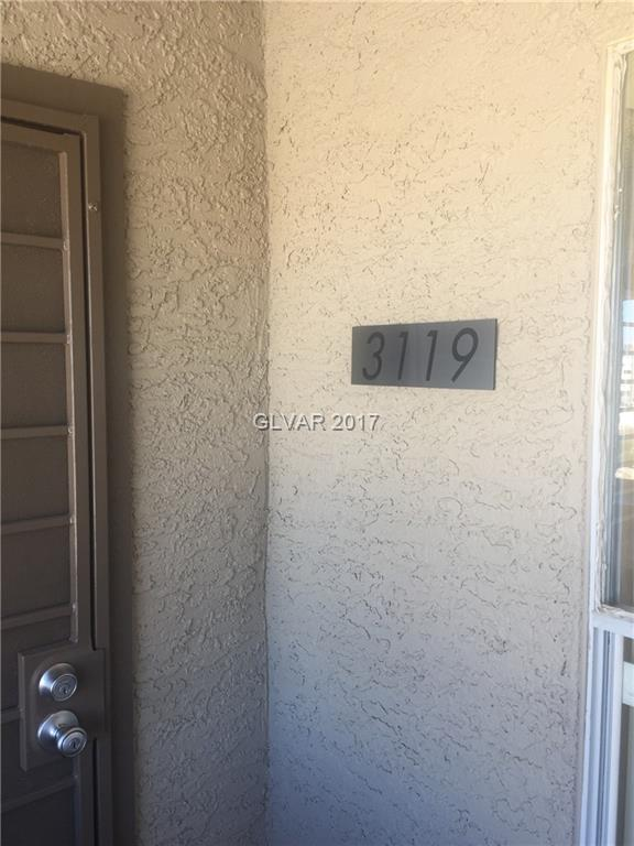 Gorgeous condo on third floor. Views of West Flamingo Rd., Rio Hotel and Casino, Gold Coast and Palms.  Internet and cable TV included in HOA. A must-see unit. Commercial grade carpet in bedrooms. All furniture and appliances included.