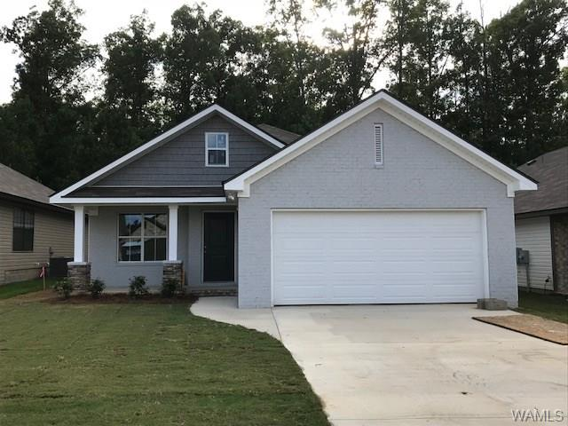 "New construction inventory is low, but this home is available...FOR NOW.  Your friends will be envious when they see the amazing wall detail in the family room.  Camden Lake is East Tuscaloosa's ""IT"" community and home sites are dwindling quickly.  Short commutes, fishing, walking trails...what else could you want?"