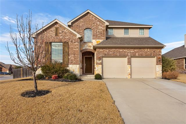 Gorgeous home featuring 4 bedrooms and office/study, home theater, and two 'play rooms'. This Highland Homes 'Sheldon' model is Energy Star Certified and features new hardwood floors in office, dining room, and spacious family room; stunning kitchen with stainless double ovens and sunny breakfast area. Play rooms can be converted to gym, 2nd office/study, or additional bedrooms.