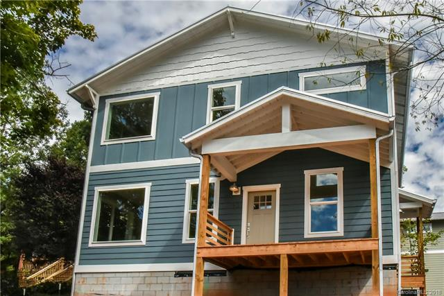 New Greenbuilt and Energy Star certified home in East/West Asheville on a quiet side street.  Conveniently located half a mile from Haywood Rd and Carrier Park.   The home has an open floor plan, lots of windows and natural light, a concrete patio in the flat backyard and a mud/laundry room.  The kitchen features a large island, granite counter tops, upgraded stainless steel appliances and a large window overlooking the back yard.  Large master suite with a walk-in-closet, double vanity, glass shower and large window for natural light.  All bedrooms are very good size and have huge closets.  Additional storage in the attic and the fully sealed and dehumidified crawl space.  Taxes TBA. Home to be completed mid/end of October.