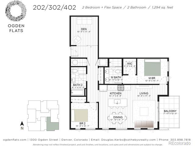 1300 N Ogden Street 206