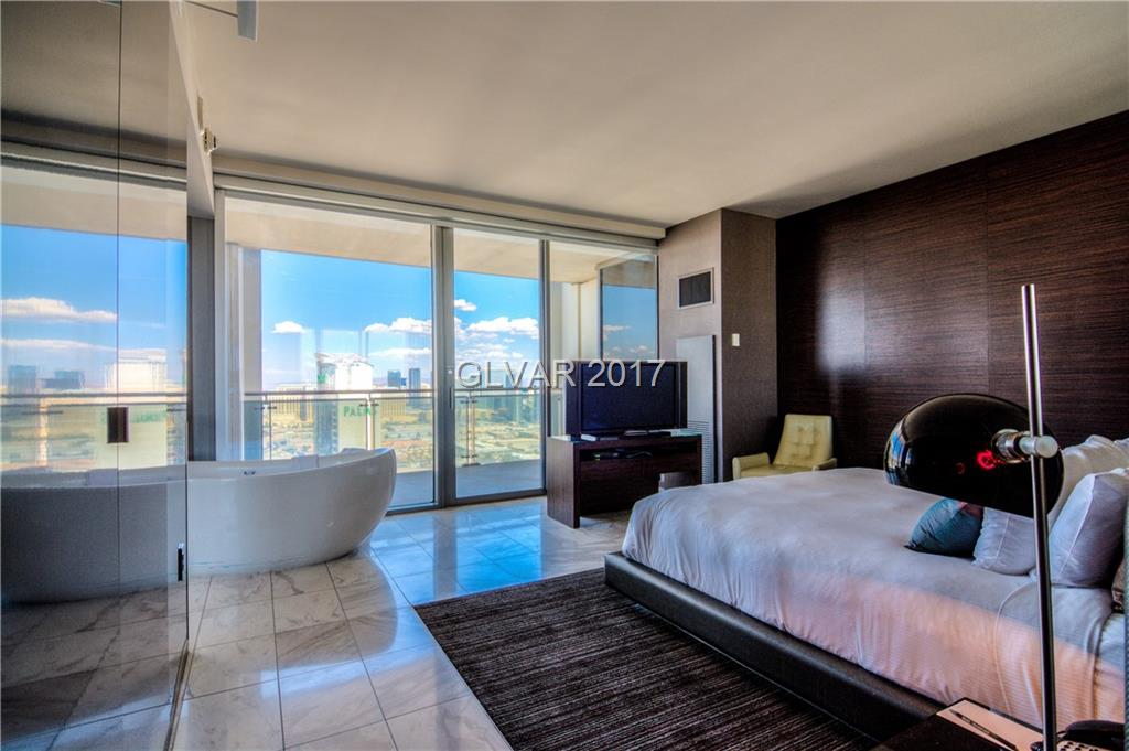 Stunning, fully furnished one bedroom with amazing views of the Las Vegas Strip! Sleek & modern decor, stainless appliances and luxury amenities. Owner perks include: free limo rides, Drift spa access, free parking, discounts & Palms restaurants & shops. Move in ready to enjoy or invest for rental revenue.