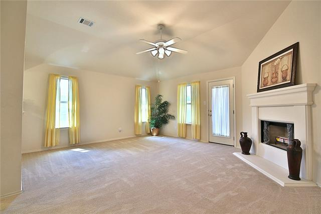 """Super Clean, Super Cute 4 bedroom home! Popular floor plan """"The Lincoln"""" built by Gehan Homes. Great property for first time buyers, investors! New Lennox Heating and air conditioning system installed spring of 2018. The 4 bedroom adjacent to master has French Doors & closet making a perfect nursery or home office! Very well maintained home and priced to sell!"""
