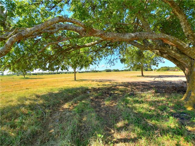 This acreage boasts beautiful endless views to the north and west with heritage oaks and native pecans. Within 30 miles of many towns including Cedar Park and access to local lakes within an hour drive.  Active water meter serviced by City of Georgetown.  Pedernales electric co op on property.  30.44 acres in agricultural exemption w 1 acre reserved for homestead.  Deed restrictions can be amended. Gate not locked - Open and close after viewing the property. Stay to paved roads if recent rains.