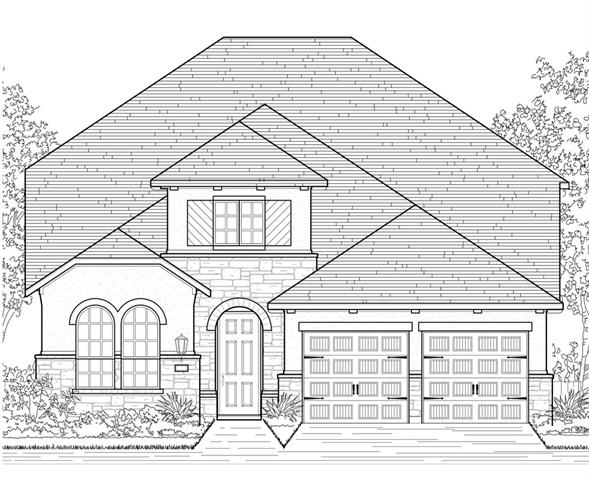 MLS# 4419007 - Built by Highland Homes - December completion!! ~ Large 2 story home with large backyard for children. Gameroom and 2 large bedrooms on second floor each with dedicated bathroom. Lower level has powder room, fireplace and extended outdoor living area with gas drop. Kitchen includes silestone countertops, spacious island, and built in stainless steel appliances with gas cooktop. Full sod and sprinkler system included!