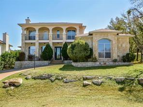 Beautiful, custom built home on the 9th fairway of Yaupon Golf Course. Walking distance to the country club and many hiking trails close by.  Iron entry doors, wood floors, granite counters, custom cabinetry, stainless appliances and much much more! Large study with french doors. Large covered patio and room to add an additional bedroom and bath.