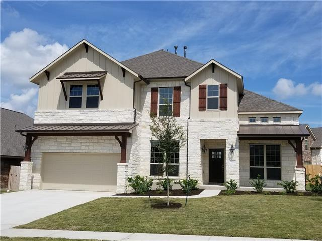 Beautiful Centerra Home in Siena.  New construction with open/high ceilings and curved architecture. This home is 3622 sqft. 4 bedroom, 3.5 bathrooms and a game room. Must see this award winning builder, who is native to the Austin area-Centerra Homes.  Amy Wills will make you feel right at home and provide excellent customer service-whether you are doing a 6 month build from scratch or buying an awesome move in ready home and closing quick.  Foam insulated, new home have great utility bills.
