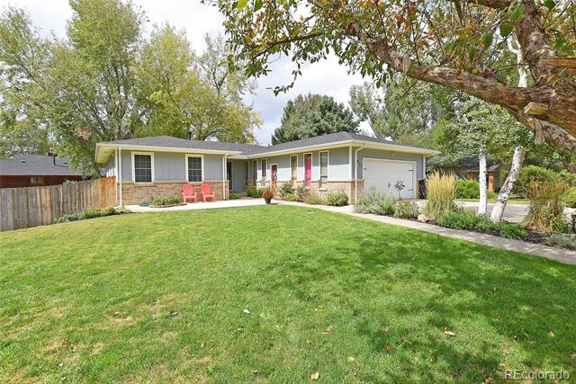 Sprawling ranch in sought after Rangeview North on 10,000 SF corner lot! This home shines from head to toe. Spacious room sizes will make this home functional for every buyer! Bright eat-in kitchen is convenient to lg dining rm & has laminate floor, pantry & built-in desk. Big master has walk-in closet. Finished walk-out bsmt has game space, family rm & flex space great for gym or office. Active radon system. Huge back deck great for a summer BBQ! New roof, gutters, garage door H20 heater 2018. Assumable VA loan 3.875% Buyers Must Qualify