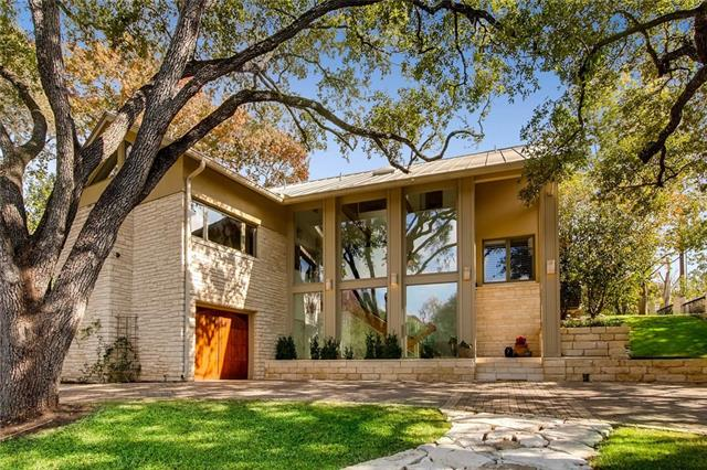 Private, gated & close to DT Austin & Tarrytown! 4 bedrooms + office (or 5th BR), w/en-suite baths & large closets. Architect George Loving designed & personally supervised the home's transformation in 2002/03 when the original home was taken down to the studs & another floor added above. Surrounded by multi-million dollar estates. Fully fenced flat backyard, BBQ & patio areas & room for a pool. Renowned Casis Elem., Austin ISD. Views of woods & no homes behind!