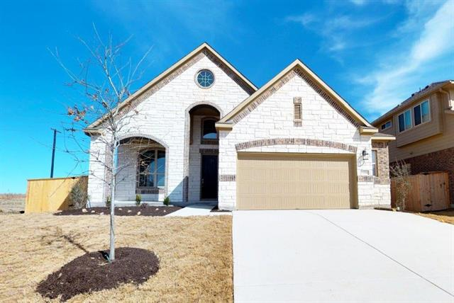 Beautiful Two Story Chesmar Home. Gorgeous 7x22in woodtile floors through out main living areas with a spacious 18' tall ceiling at the grand entry.  Amazing open kitchen with stainless built in appliances and a formal dining with 12' ceiling.  Green space along the side of this home means it will never share a back fence or a left side fence with a neighbor! Perfect outdoor entertaining with covered patio!  Plus an addition 1/2 car garage!