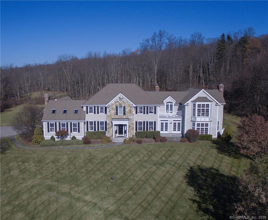 Pride of ownership is evident in this stunning home with panoramic views; stately colonial with majestic setting and custom architectural details including grand foyer, dramatic moldings, 2 staircases, English pub/library.  Stylish and sophisticated. 3.14 acres set among notable horse properties that offer boarding and riding facilities.  Close to North Salem, NY equestrian trails, can easily accomodate horses.  Nestled into the countryside, this treasure is one-of-a-kind, offering a peace and quiet lifestyle, yet minutes to everything.