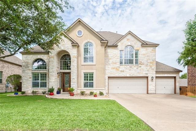 Beautifully maintained Wiltshire home in the highly sought after Bella Vista neighborhood! With a spacious, open floor plan, soaring ceilings,& lots of natural light, this home has it all! With a large master suite down& 3 bedrooms up, there is enough space for everyone! This home boasts a dedicated office, formal living&dining, a tranquil sunroom, an over-sized living area,& a backyard oasis! Recent updates: custom front door, paint throughout, flooring, H2O water filter &ethernet.