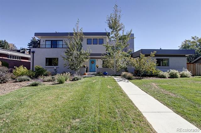 Built in 2014 by Denver Design Build on one of the largest lots in Hilltop (.31 acre), this open, light-filled Scandinavian-minimalist style home, has mountain views & lots of sqft inside & out! Priced competitively to allow style changes if a more personal touch is desired, this 100% remodeled home offers 5 beds & 5 custom-tiled baths, incl. spa-like master bath w/ chromatherapy Jacuzzi airbath & open-air shower. Modern kitchen w/ Electrolux appliances, island w/ seating x4 and beverage center. 500 sqft bonus space off the main living area w/bath. 3 beds, Laundry Room & 2 terraces upstairs. 3 fireplaces. Huge, never lived in finished basement w/ endless possibilities: in-law suite, playroom, gym, future walk-out apartment w/ 2nd set of W/ D hookups. Professional landscaping with fruit trees, berries, flowers, flowering shrubs & a herb garden for the cook. Room for a pool in back! Carson Elementary! Call now to schedule your personal showing!