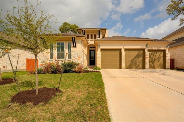 Like new 1.5 story home in the highly sought after Ranch at Brushy Creek with Award Winning Round Rock Schools.  All bedrooms and study/office on main, second story game/flex room with half bath.  Modern and open floor plan with 3 car garage, wood floors, close to major roads.