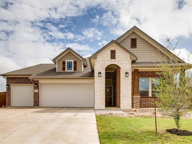 """Located on a quiet Cul-de-sac lot in a wonderful Master-planned community.  The easy living floor plan with a """"Texas basement"""" above the garage provides extra storage & energy star appliances including a double oven & gas cook top are bonuses you can appreciate.  The lot configuration with greenbelt views gives you the outdoor space you are looking for. The 3 car garage includes a convenient pull-through bay. All this plus the peace of mind that comes from the quality of a  David Weekly Home."""