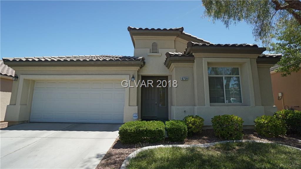 6758 GRACEDA Street, Las Vegas, NV 89148